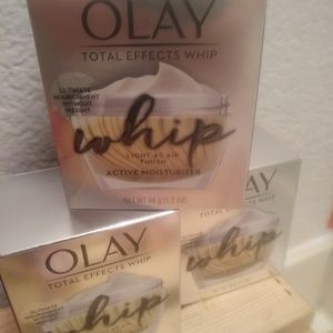 Olay total effects whip moisturizer